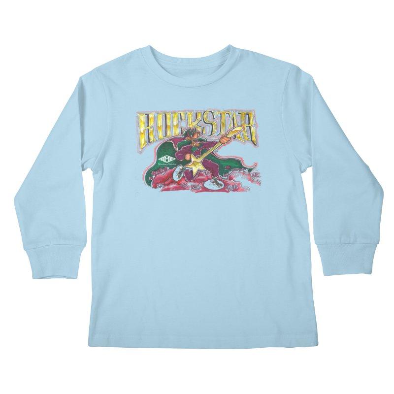 RocKstar Kids Longsleeve T-Shirt by HMKALLDAY's Artist Shop