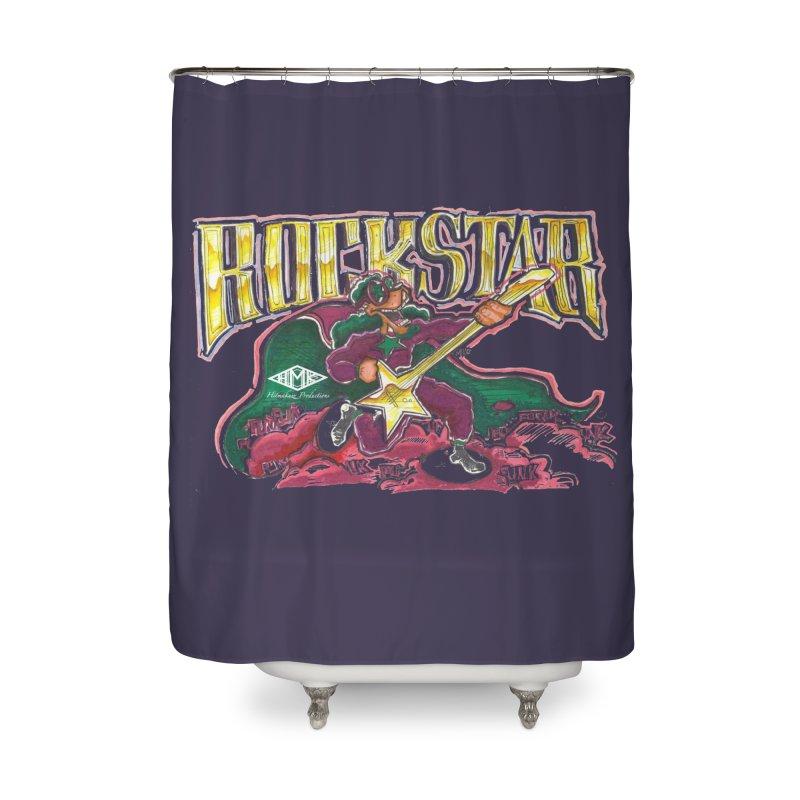 RocKstar Home Shower Curtain by HMKALLDAY's Artist Shop