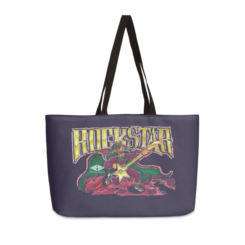 RocKstar Accessories Weekender Bag Bag by HMKALLDAY's Artist Shop