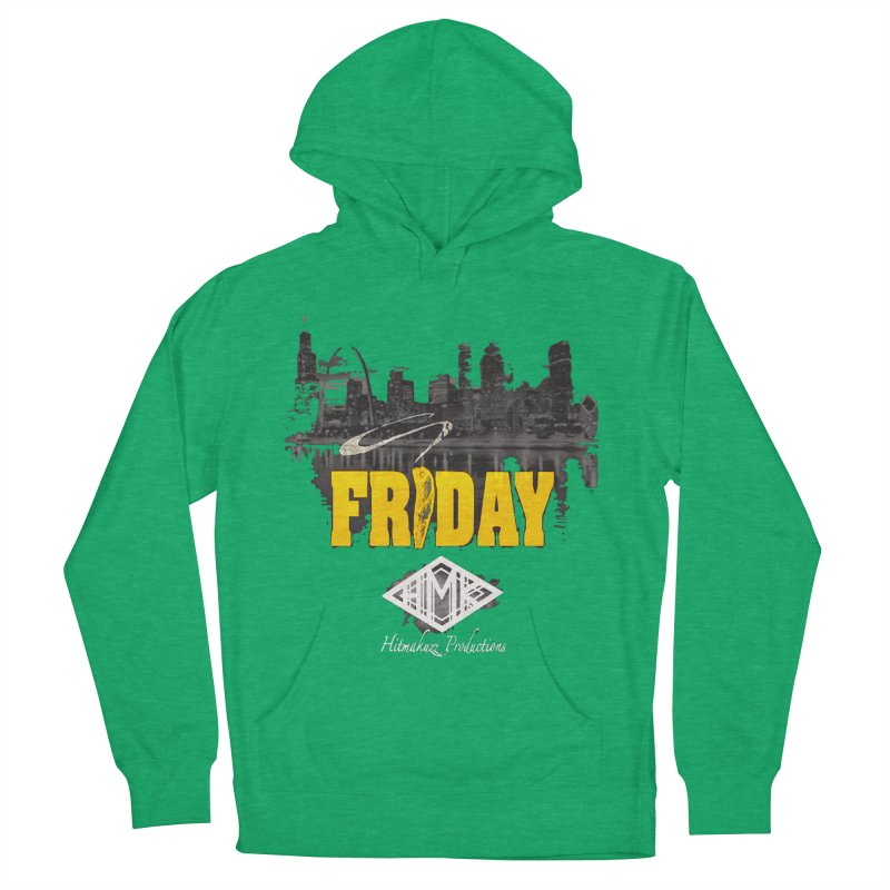 Friday Men's French Terry Pullover Hoody by HMKALLDAY's Artist Shop