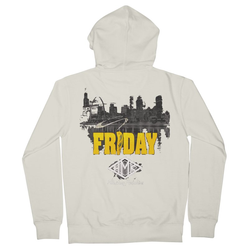 Friday Women's French Terry Zip-Up Hoody by HMKALLDAY's Artist Shop