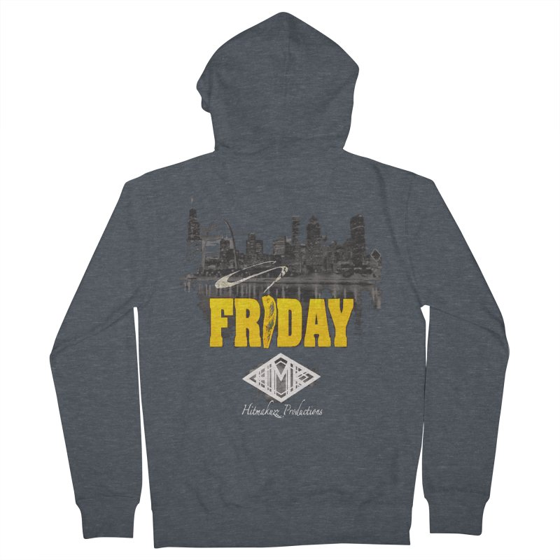 Friday Men's French Terry Zip-Up Hoody by HMKALLDAY's Artist Shop