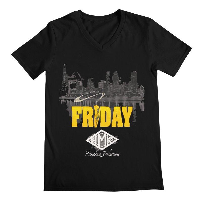 Friday Men's Regular V-Neck by HMKALLDAY's Artist Shop