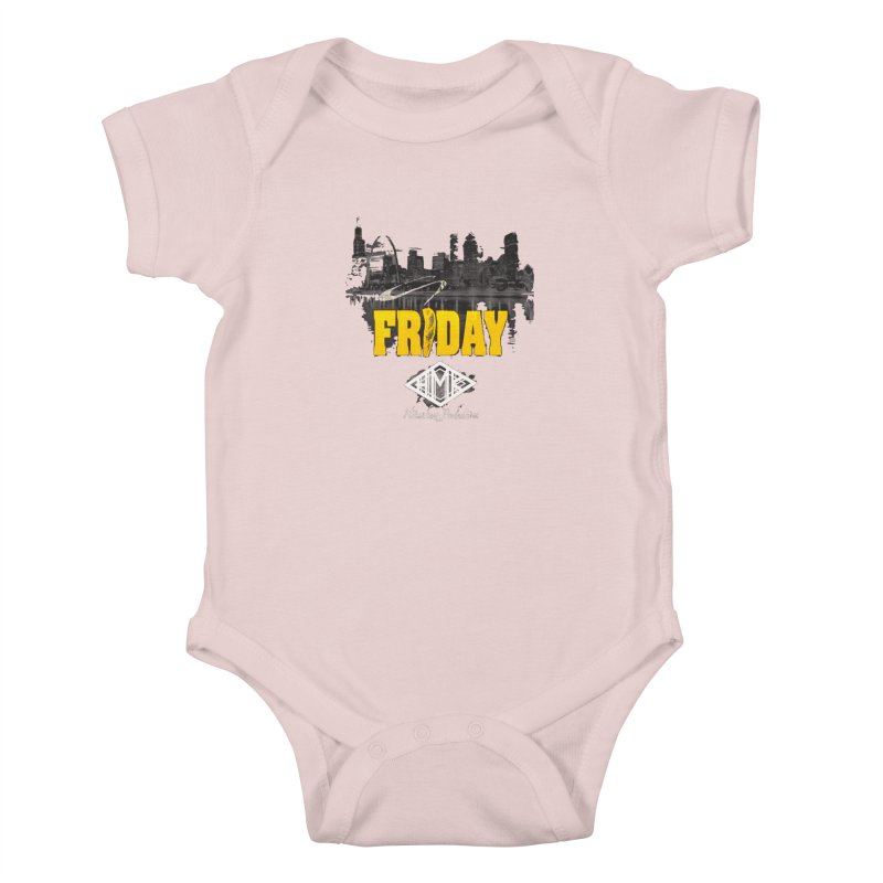 Friday Kids Baby Bodysuit by HMKALLDAY's Artist Shop