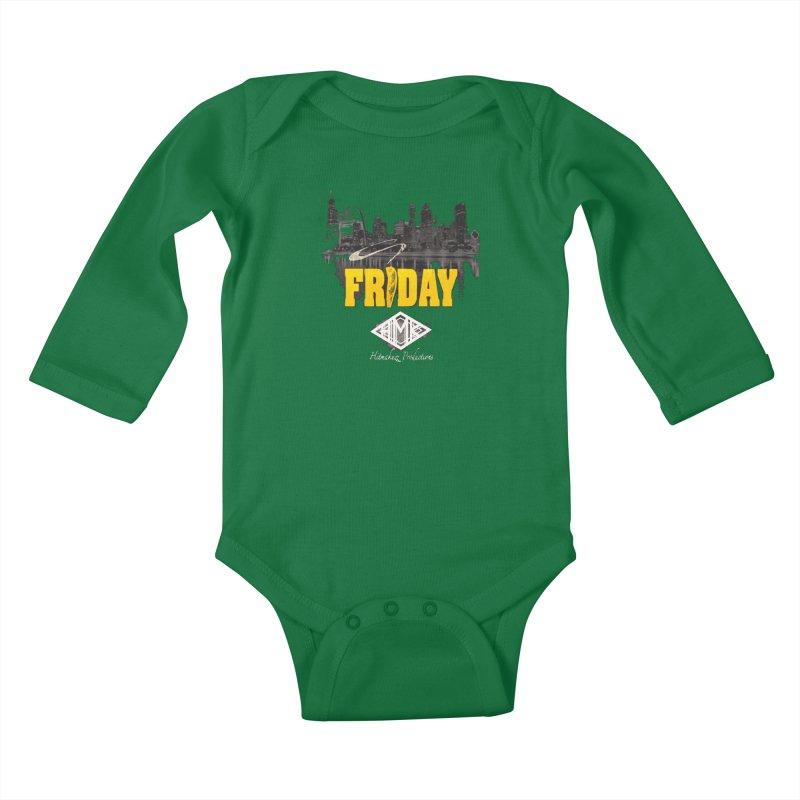 Friday Kids Baby Longsleeve Bodysuit by HMKALLDAY's Artist Shop