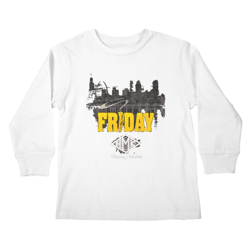 Friday Kids Longsleeve T-Shirt by HMKALLDAY's Artist Shop