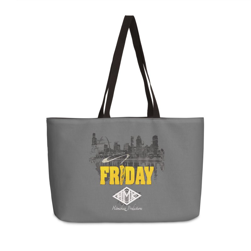 Friday Accessories Weekender Bag Bag by HMKALLDAY's Artist Shop