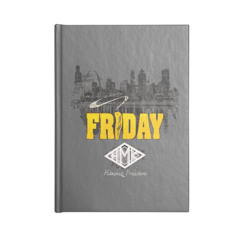 Friday Accessories Blank Journal Notebook by HMKALLDAY's Artist Shop