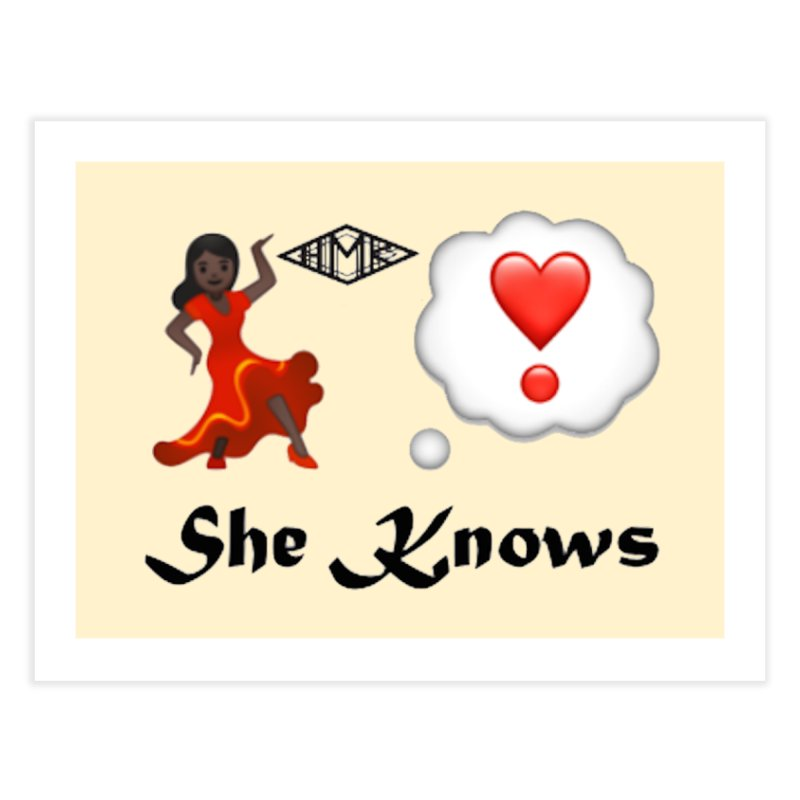 She Knows Home Fine Art Print by HMKALLDAY's Artist Shop