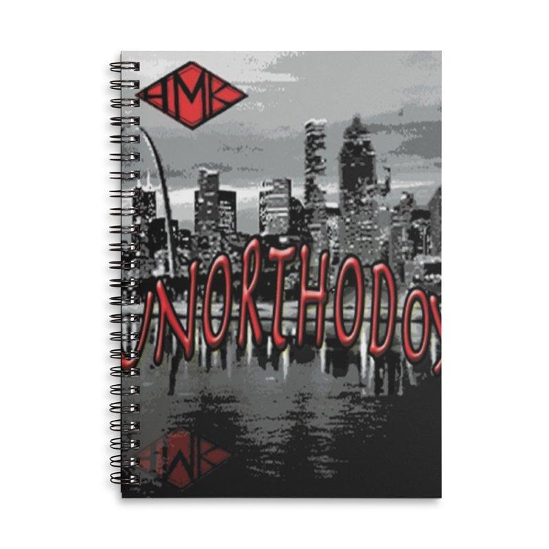UNORTHODOX Accessories Lined Spiral Notebook by HMKALLDAY's Artist Shop