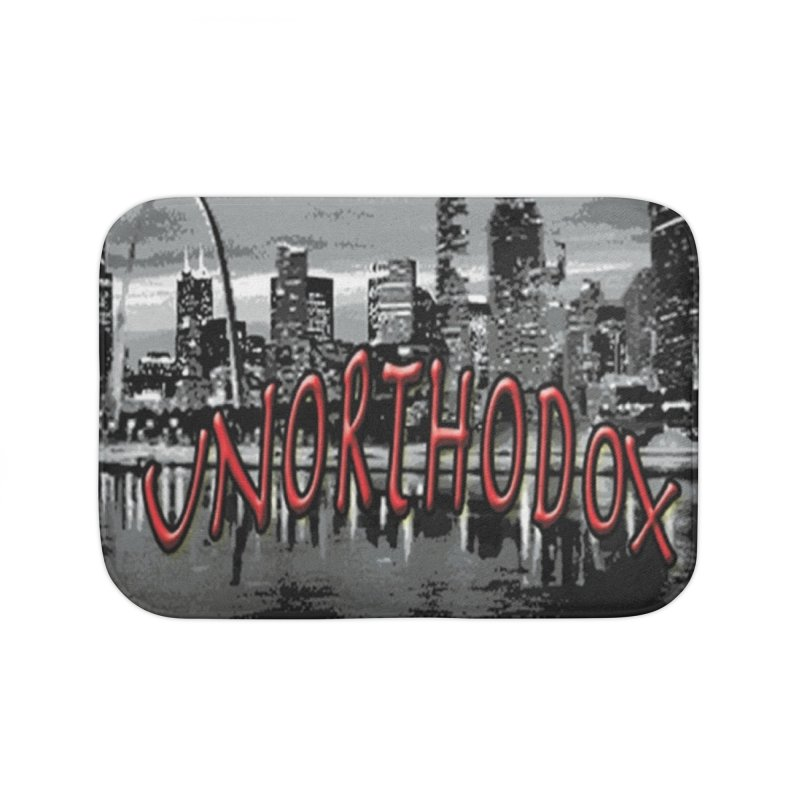 UNORTHODOX Home Bath Mat by HMKALLDAY's Artist Shop