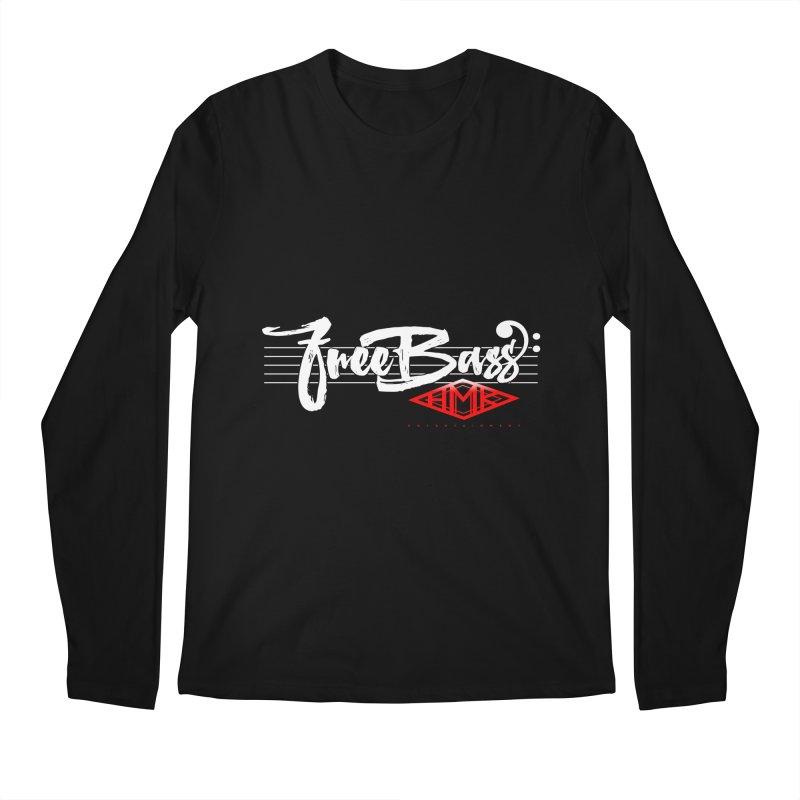 FreeBass Men's Regular Longsleeve T-Shirt by HMKALLDAY's Artist Shop