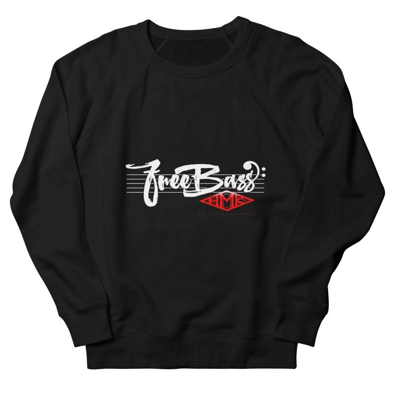FreeBass Men's French Terry Sweatshirt by HMKALLDAY's Artist Shop