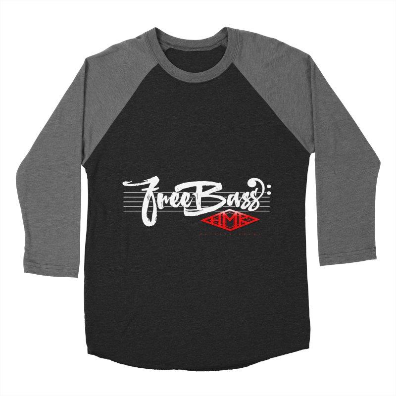 FreeBass Women's Baseball Triblend Longsleeve T-Shirt by HMKALLDAY's Artist Shop