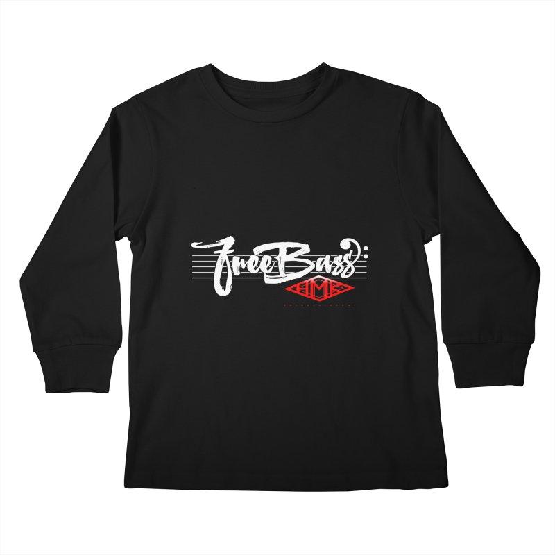 FreeBass Kids Longsleeve T-Shirt by HMKALLDAY's Artist Shop