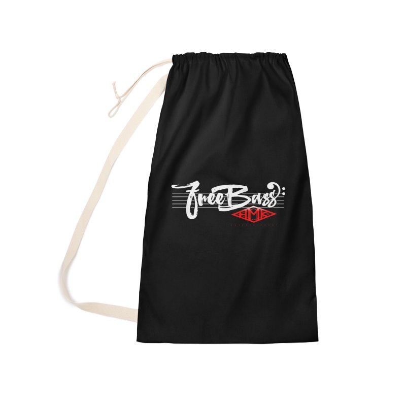 FreeBass Accessories Laundry Bag Bag by HMKALLDAY's Artist Shop