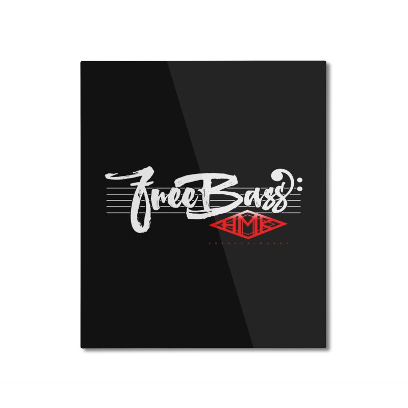 FreeBass Home Mounted Aluminum Print by HMKALLDAY's Artist Shop