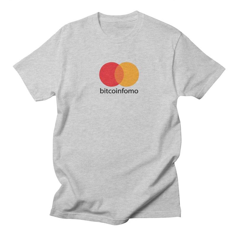 mastercard Men's T-Shirt by HODL's Artist Shop