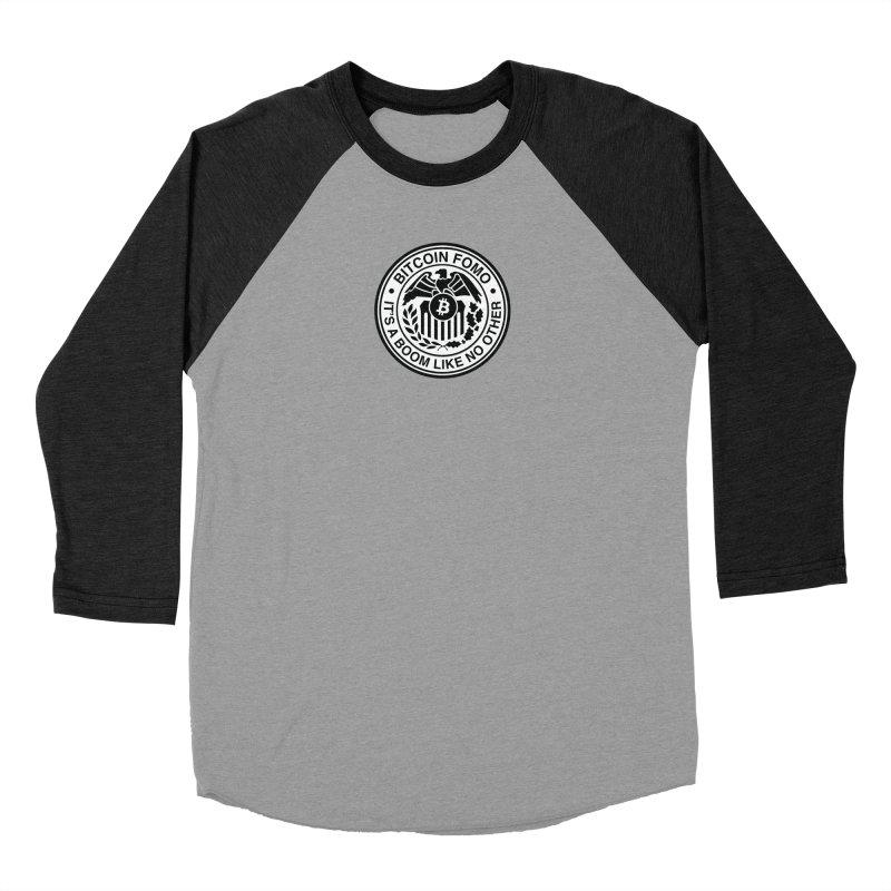 Federal Reserve Women's Baseball Triblend Longsleeve T-Shirt by HODL's Artist Shop