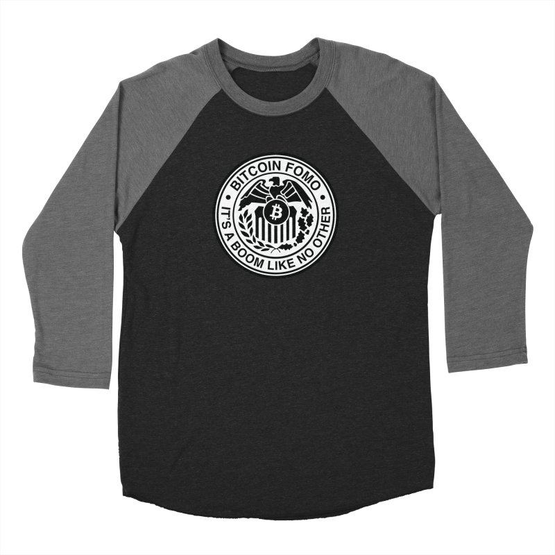 Federal Reserve Men's Baseball Triblend Longsleeve T-Shirt by HODL's Artist Shop