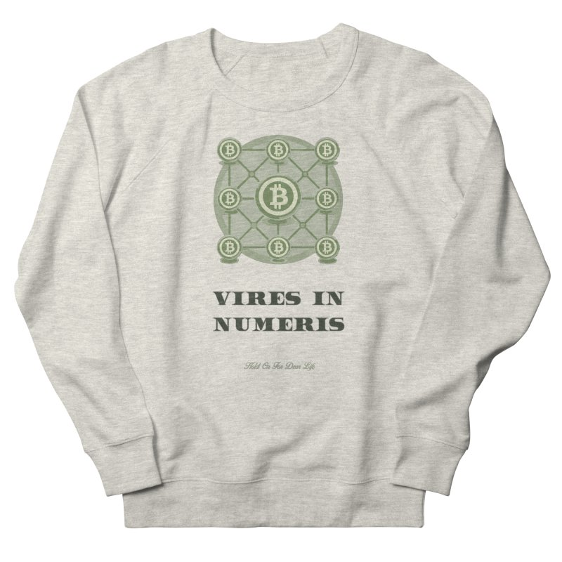 Strength in Numbers Men's Sweatshirt by HODL's Artist Shop