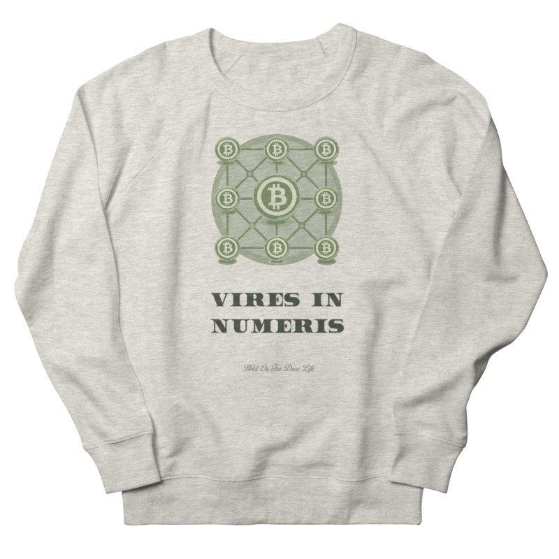 Strength in Numbers Men's Sweatshirt by HODL's Artist Shop
