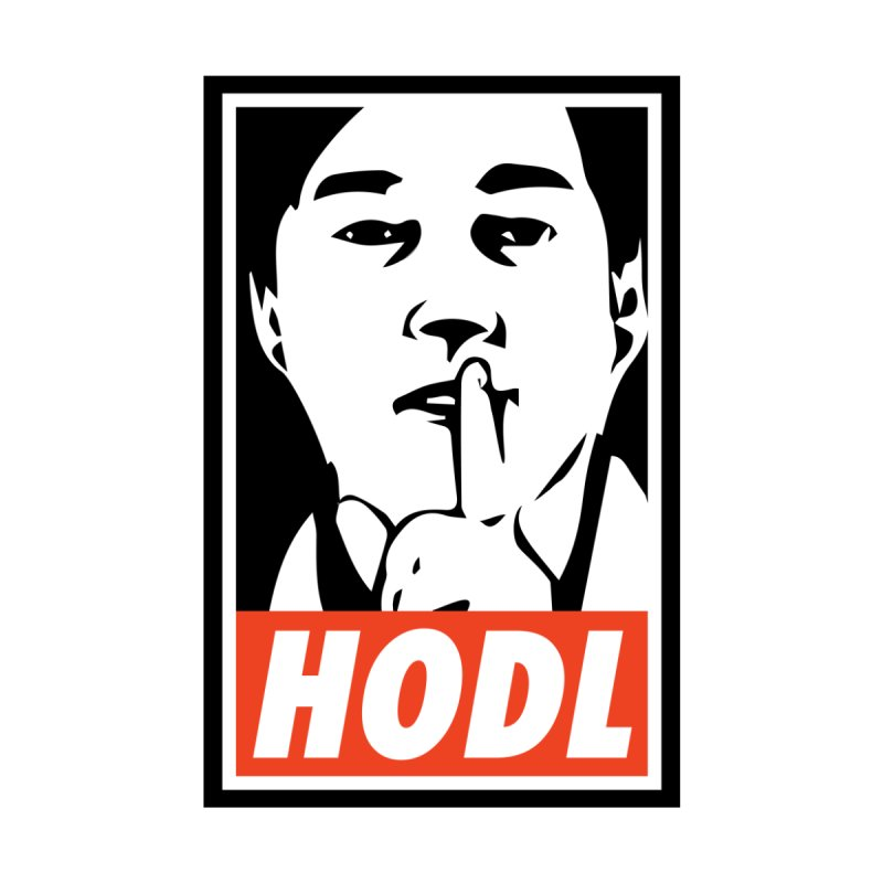 HODL Men's T-Shirt by HODL's Artist Shop