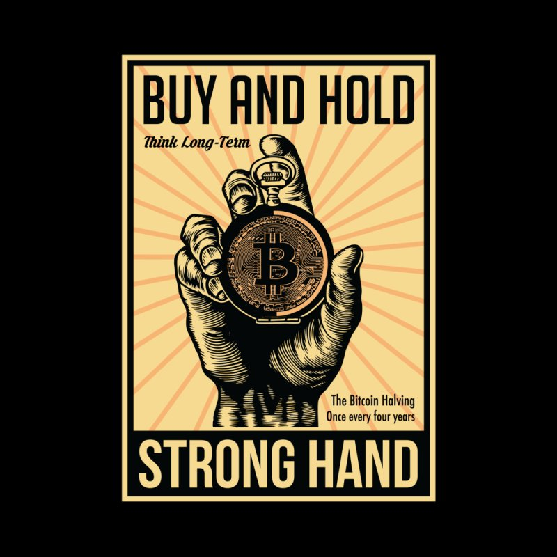 Bitcoin Meister Men's Longsleeve T-Shirt by HODL's Artist Shop