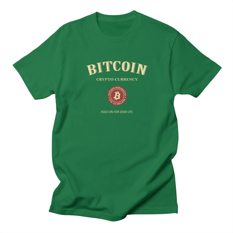 Jameson in Men's Regular T-Shirt Kelly Green by HODL's Artist Shop