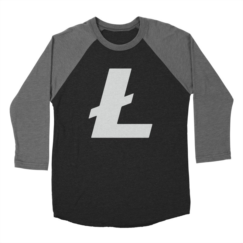 Ł is for Litecoin Women's Baseball Triblend Longsleeve T-Shirt by HODL's Artist Shop