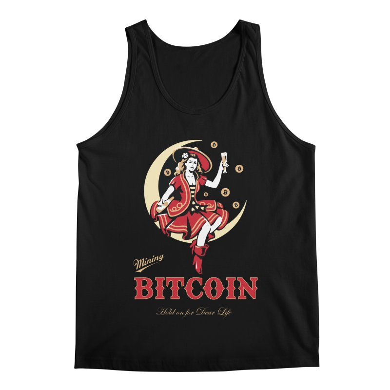 Mining Bitcoin Men's Regular Tank by HODL's Artist Shop