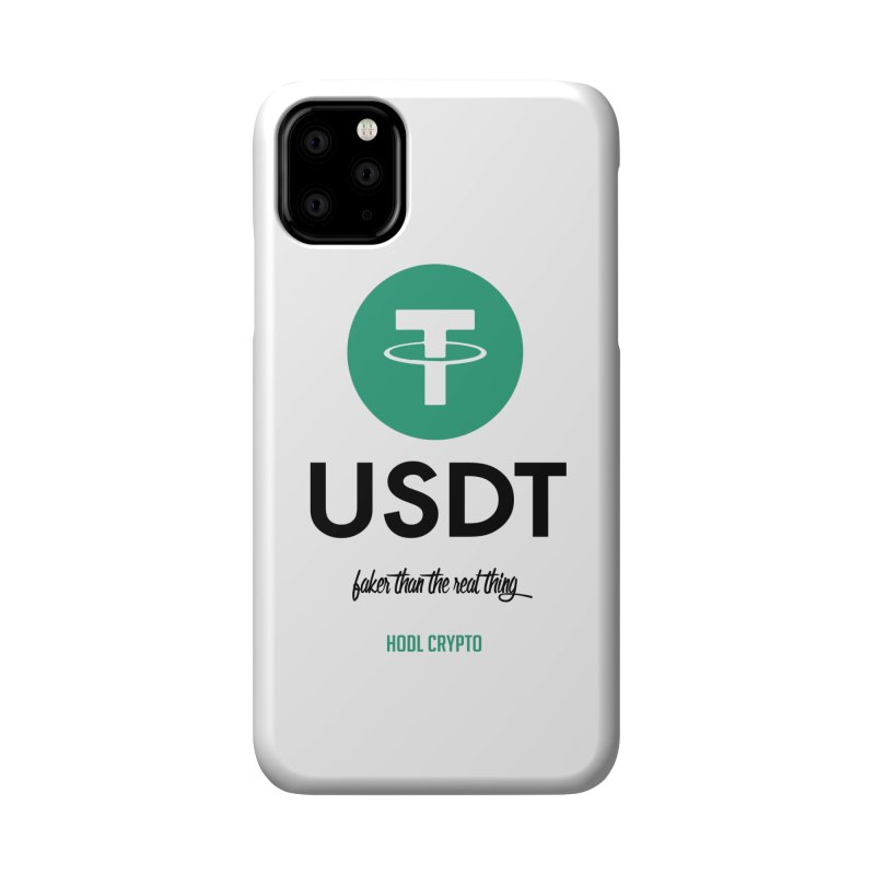 Tether Accessories Phone Case by HODL's Artist Shop