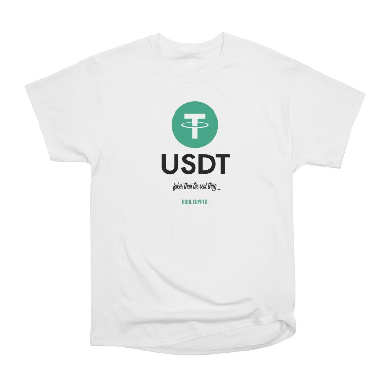 Tether Men's T-Shirt by HODL's Artist Shop