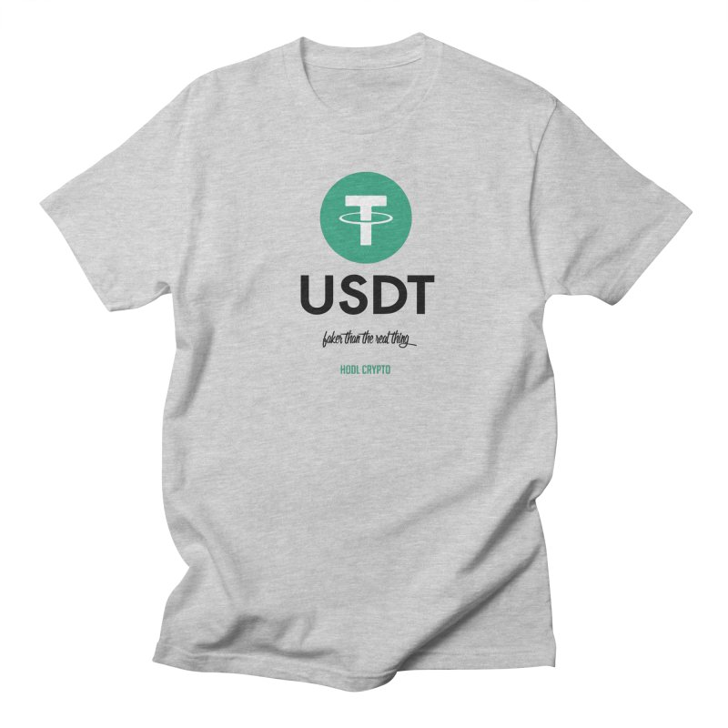Tether Men's T-Shirt by HODL's Artist Shop