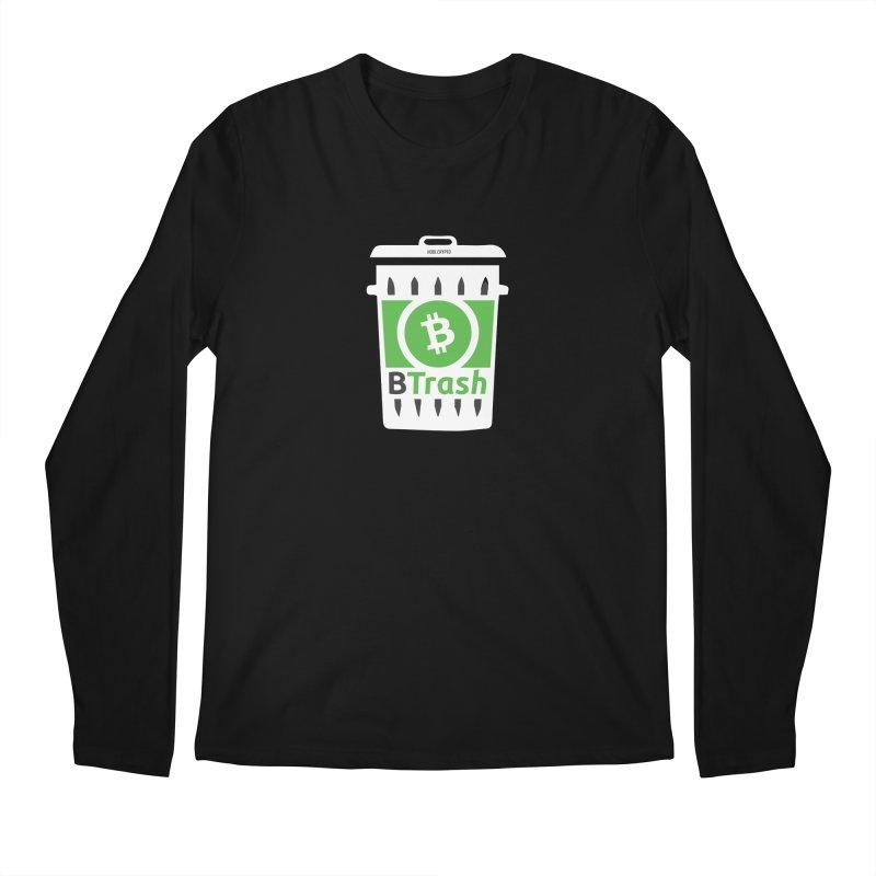BTrash Men's Regular Longsleeve T-Shirt by HODL's Artist Shop