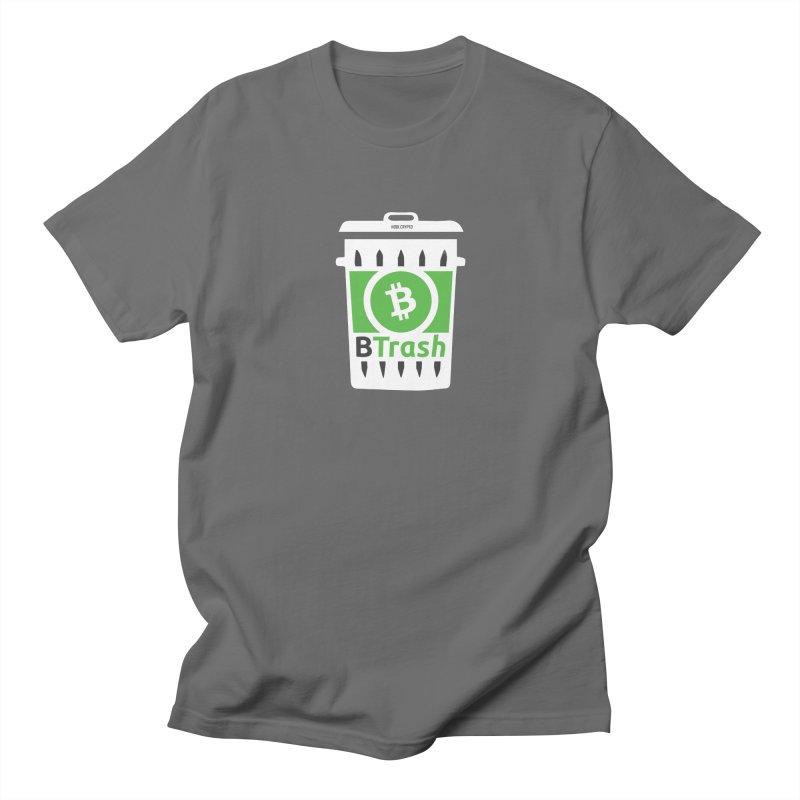 BTrash Men's Regular T-Shirt by HODL's Artist Shop