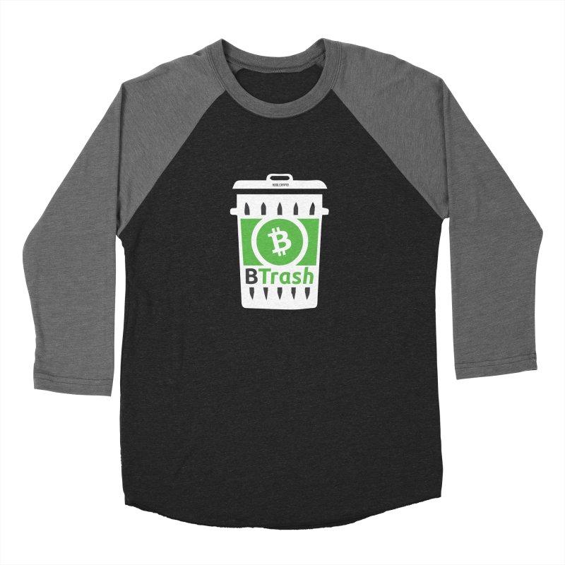BTrash Men's Baseball Triblend Longsleeve T-Shirt by HODL's Artist Shop