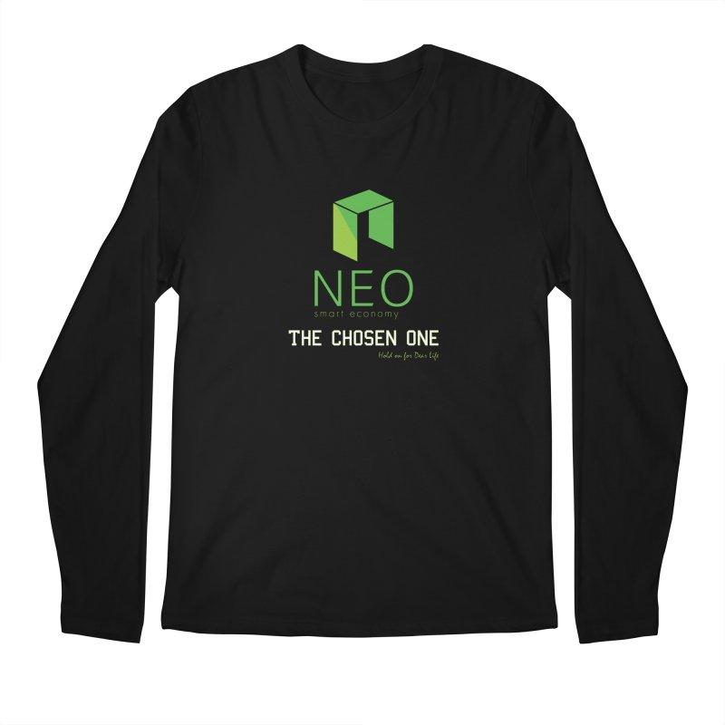 NEO Men's Regular Longsleeve T-Shirt by HODL's Artist Shop