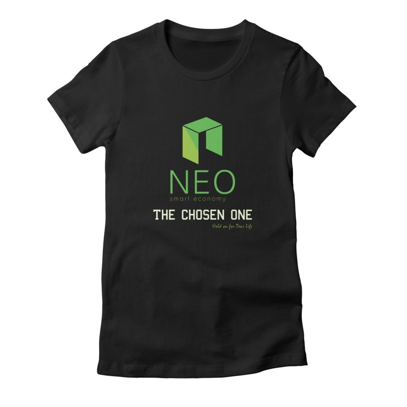 NEO Women's Fitted T-Shirt by HODL's Artist Shop
