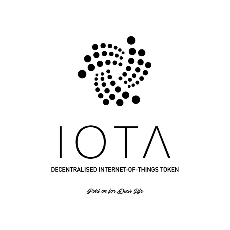 IOTA Men's Zip-Up Hoody by HODL's Artist Shop