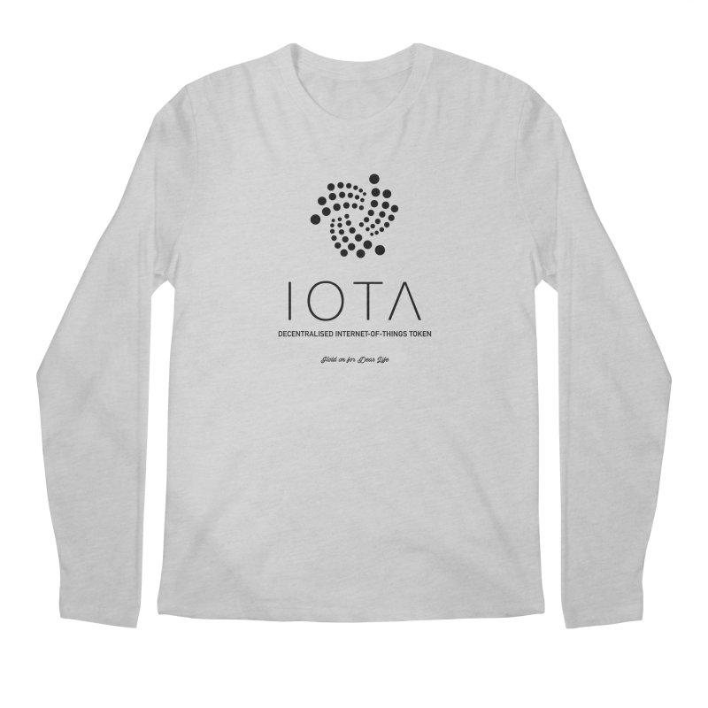 IOTA Men's Regular Longsleeve T-Shirt by HODL's Artist Shop