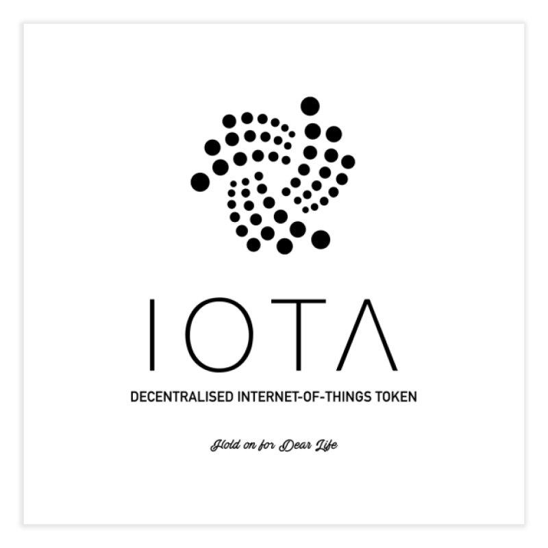 IOTA Home Fine Art Print by HODL's Artist Shop