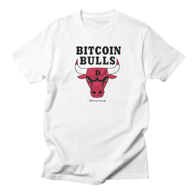 Bitcoin Bulls Men's Regular T-Shirt by HODL's Artist Shop