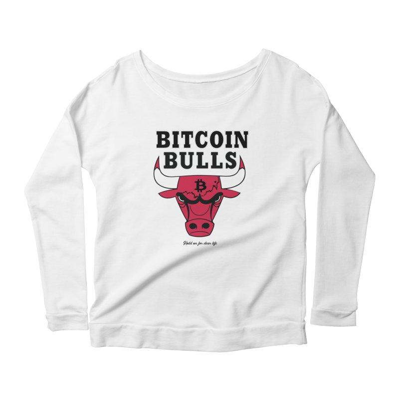 Bitcoin Bulls Women's Longsleeve T-Shirt by HODL's Artist Shop