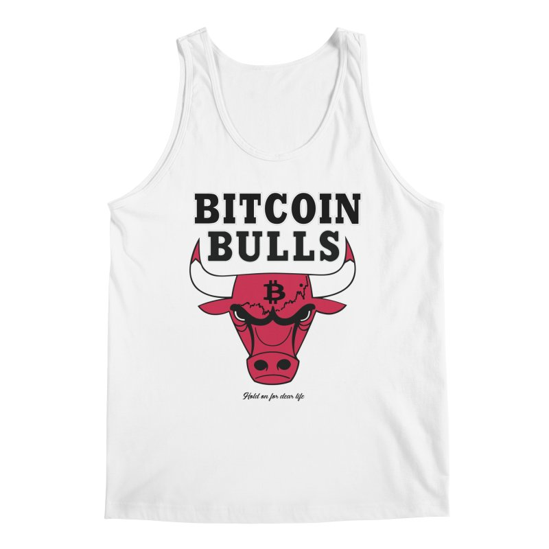 Bitcoin Bulls Men's Regular Tank by HODL's Artist Shop
