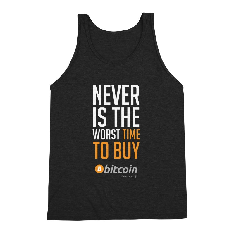 time to buy bitcoin Men's Tank by HODL's Artist Shop