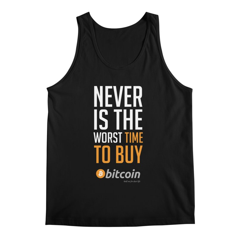 time to buy bitcoin Men's Regular Tank by HODL's Artist Shop