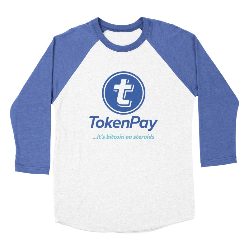 TokenPay Men's Baseball Triblend Longsleeve T-Shirt by HODL's Artist Shop