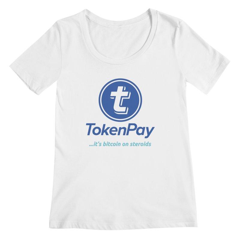 TokenPay Women's Regular Scoop Neck by HODL's Artist Shop