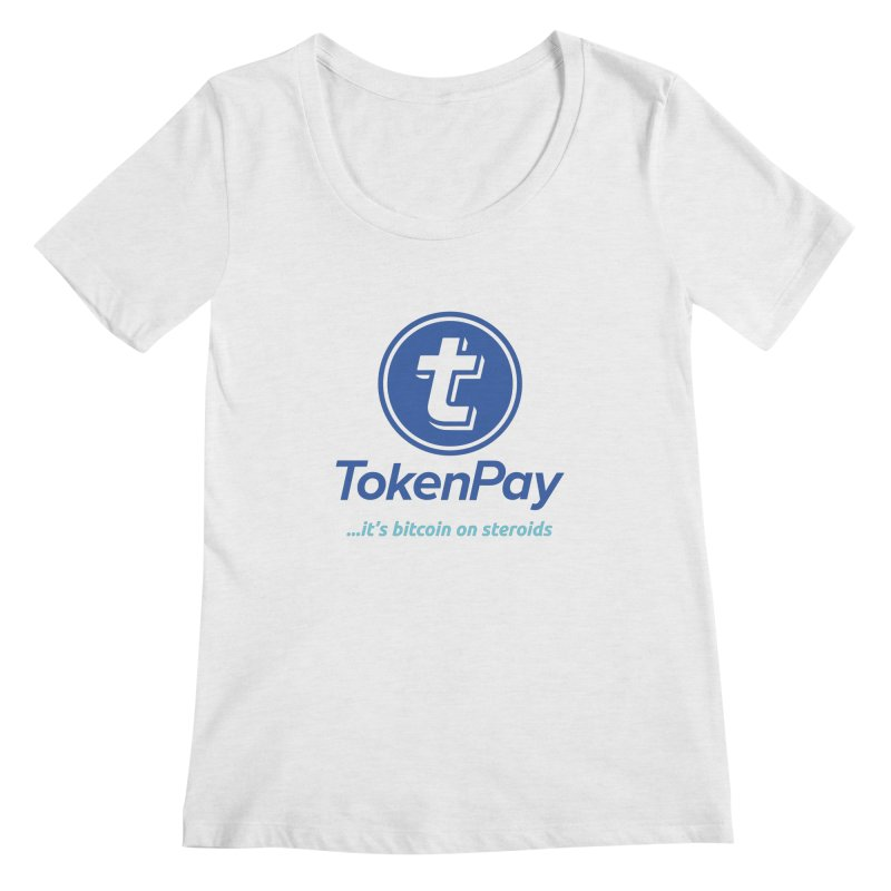 TokenPay Women's Scoop Neck by HODL's Artist Shop